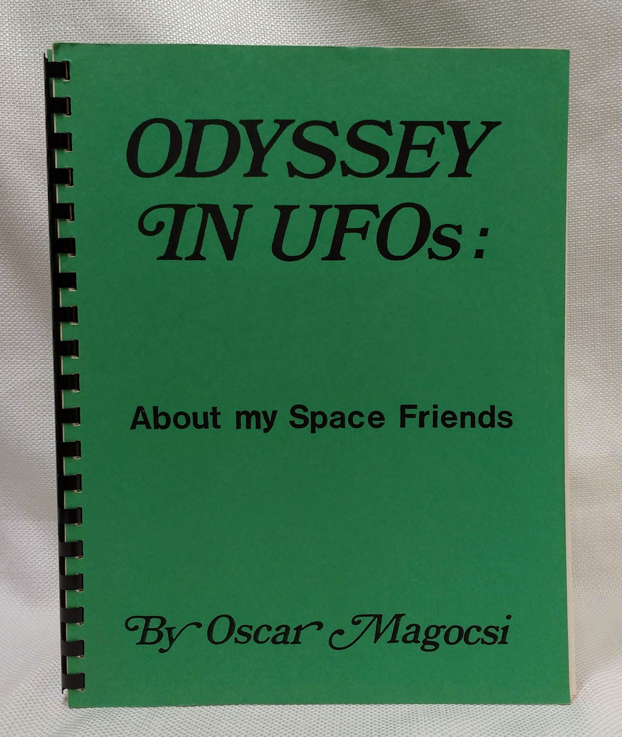 Odyssey in UFOs: About My Space Friends, Magocsi, Oscar