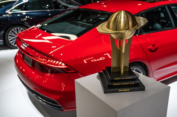 Audi A7 World Luxury Car Awards
