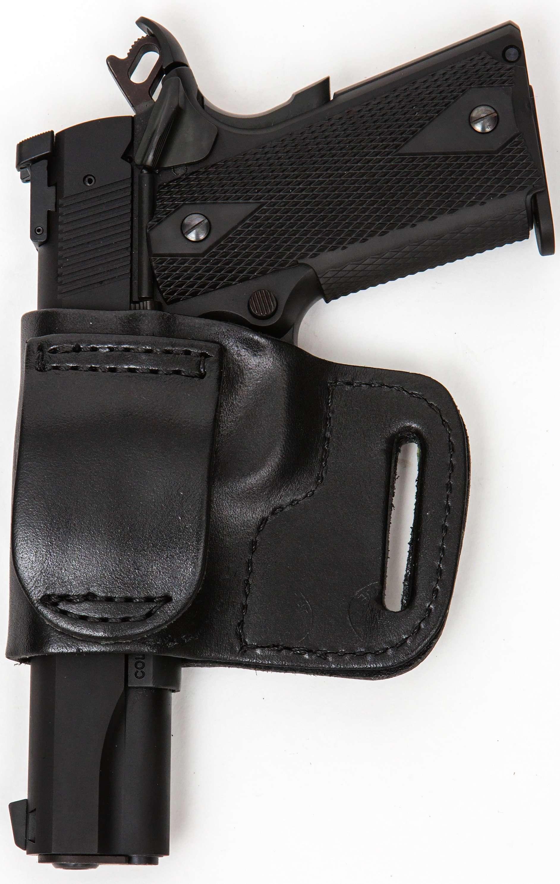 Hunting Pro Carry LT RH LH OWB IWB Leather Gun Holster For