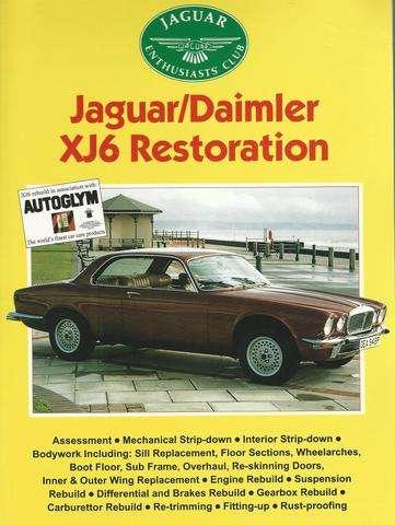Jaguar / Daimler XJ6 Restoration, John Williams