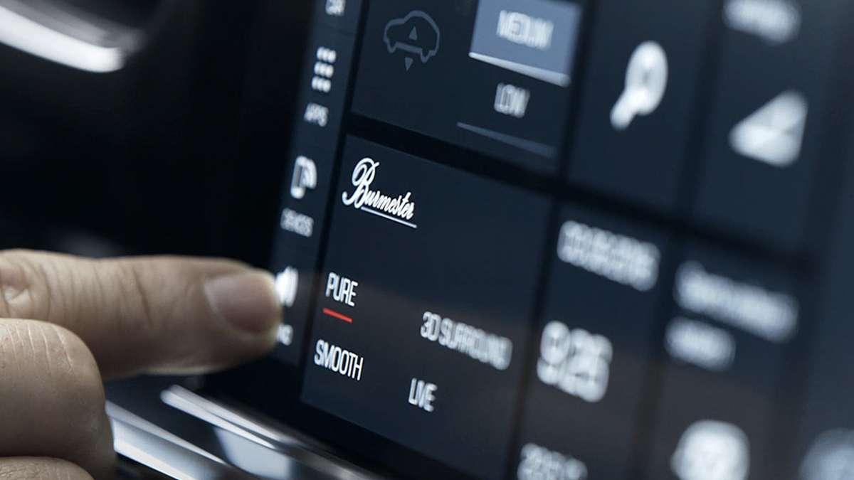 Porsche Burmester Sound System