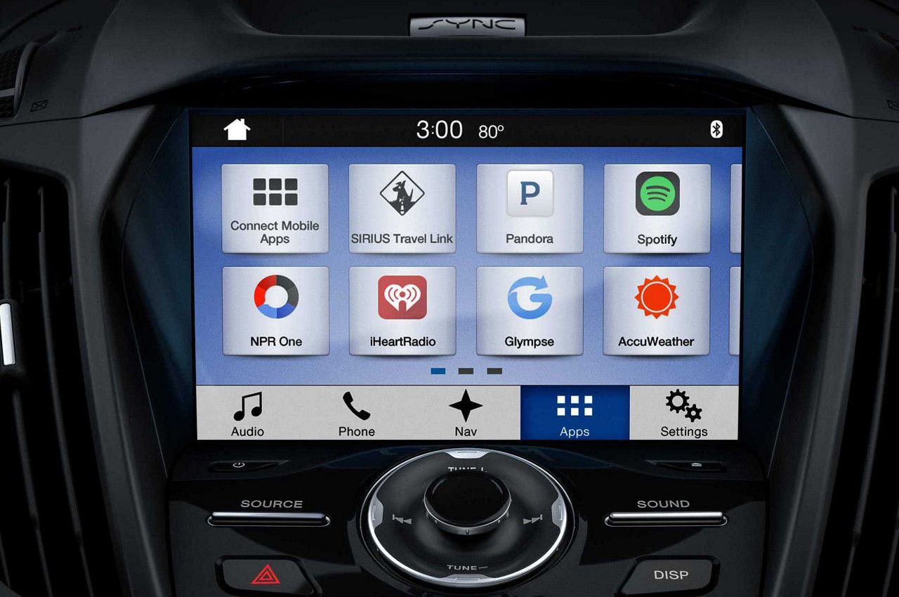 2018 Ford Escape SYNC 3 Multimedia System