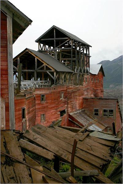 The Kennecott Mines Ghost Town (Kennecott /Alaska)