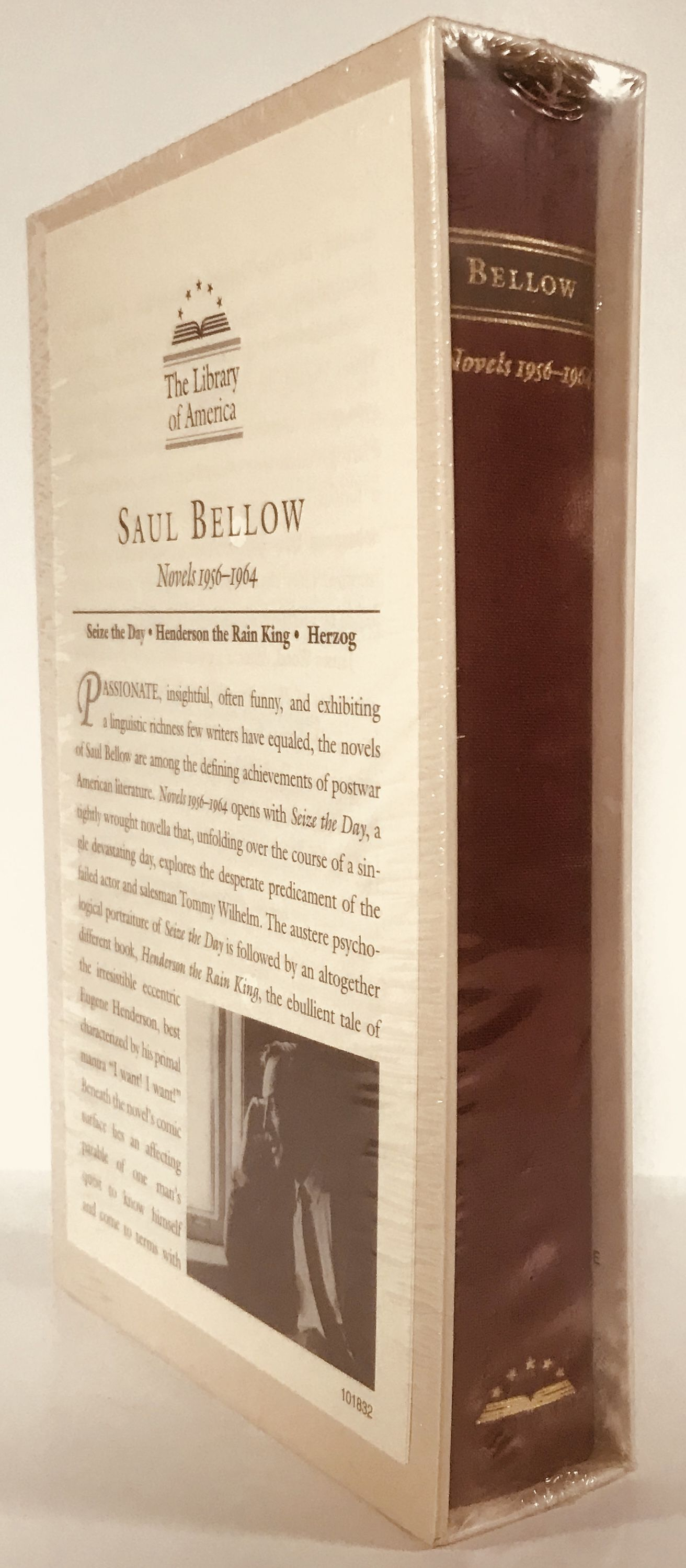Saul Bellow: Novels 1956-1964: Seize the Day, Henderson the Rain King, Herzog (Library of America), Bellow, Saul