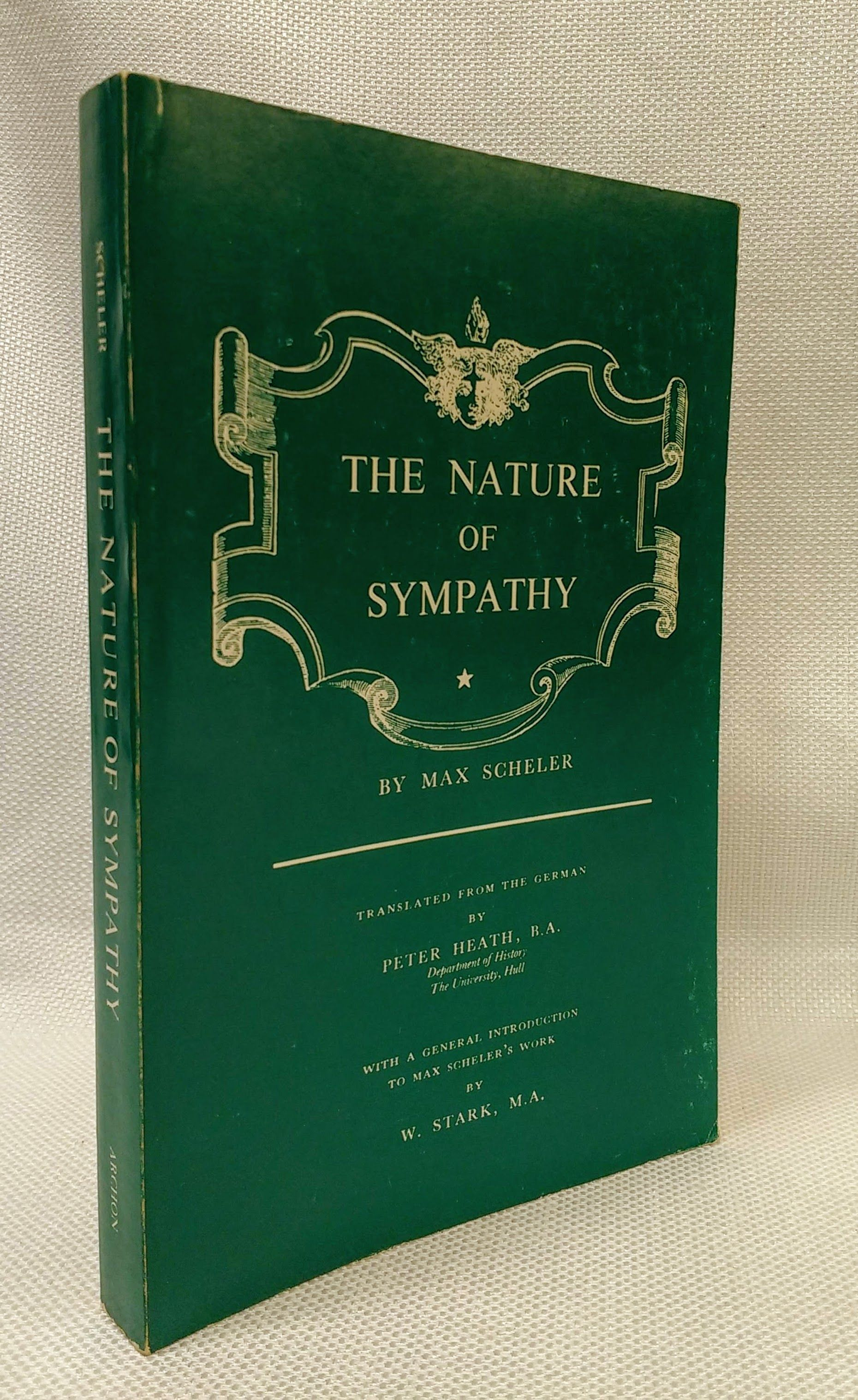 The Nature of Sympathy, Scheler, Max