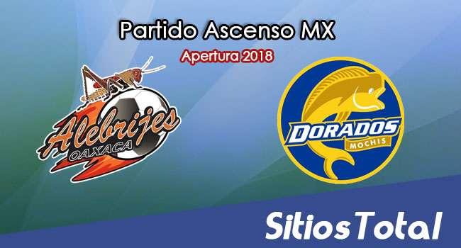 Ver Alebrijes de Oaxaca vs Dorados de Sinaloa en Vivo – Ascenso MX en su Torneo de Apertura 2018