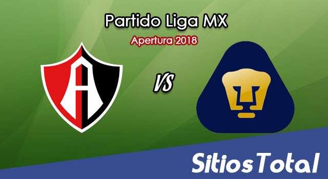 Ver Atlas vs Pumas en Vivo – Apertura 2018 de la Liga MX