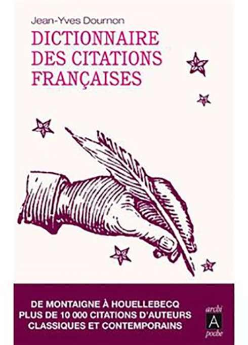 Dictionnaire des Citations Francaises