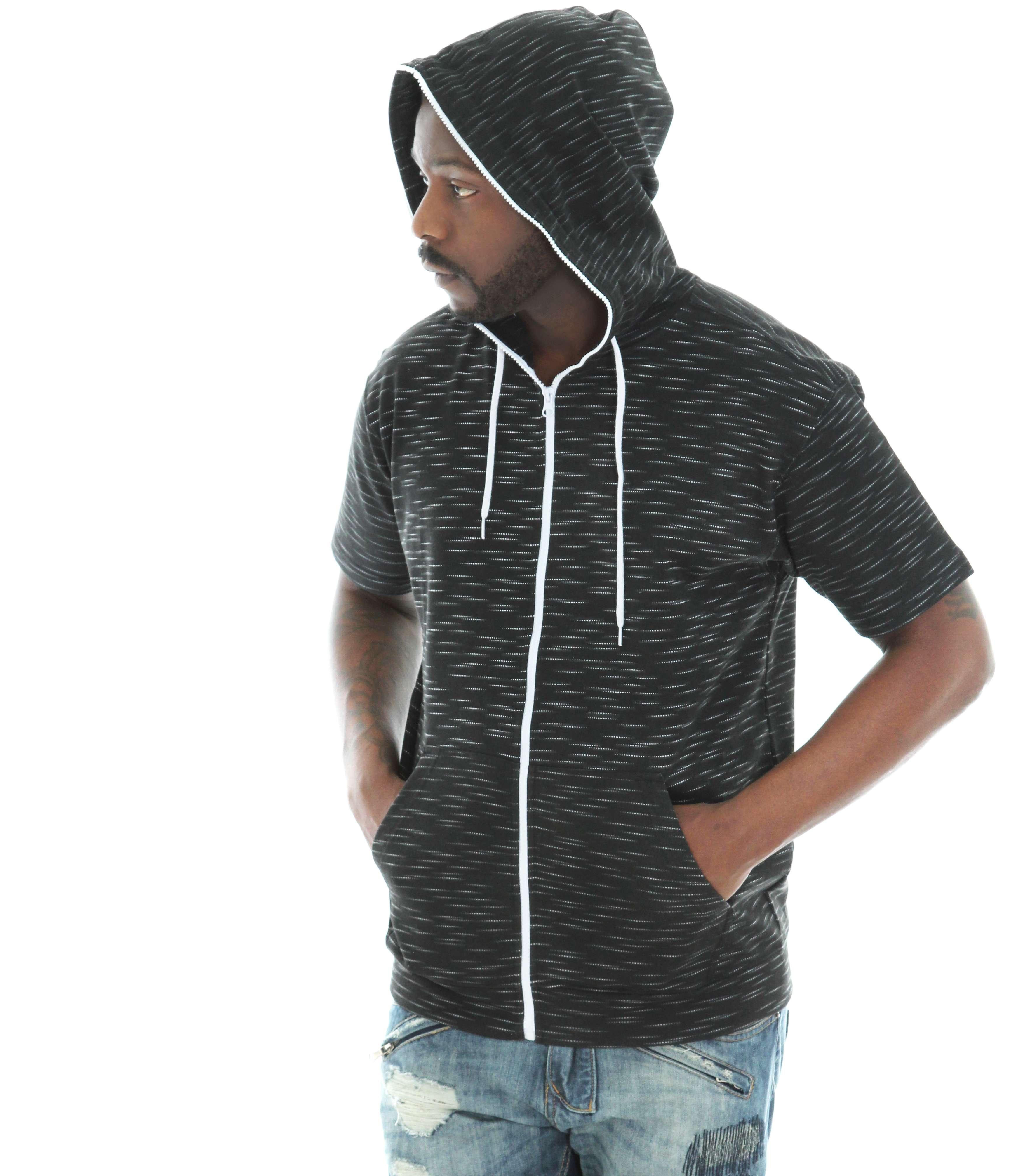 Zip all the way up hoodies