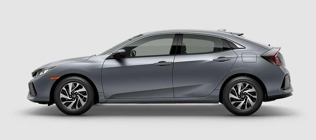 2018 Honda Civic Hatchback LX in Sonic Gray