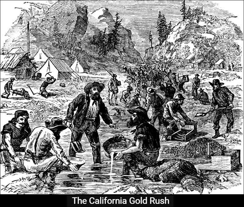 amazing californias gold rush - HD1024×833