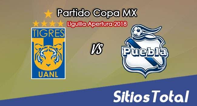 Tigres vs Puebla en Vivo – Liguilla Copa MX – Octavos de Final – Miércoles 26 de Septiembre del 2018
