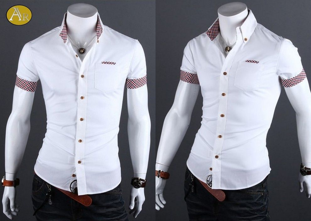 Camiseta estampado letras con cordón -blanco   Kurzes t