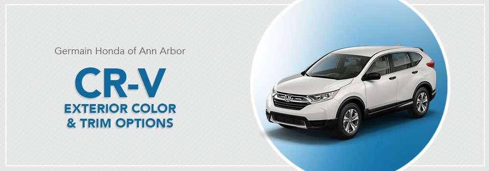 Honda CR-V Color Options