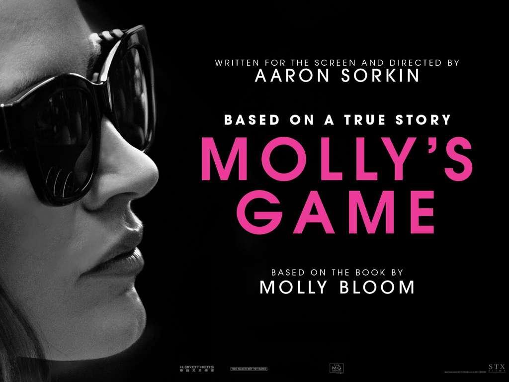 Molly's Game Quad Poster Πόστερ