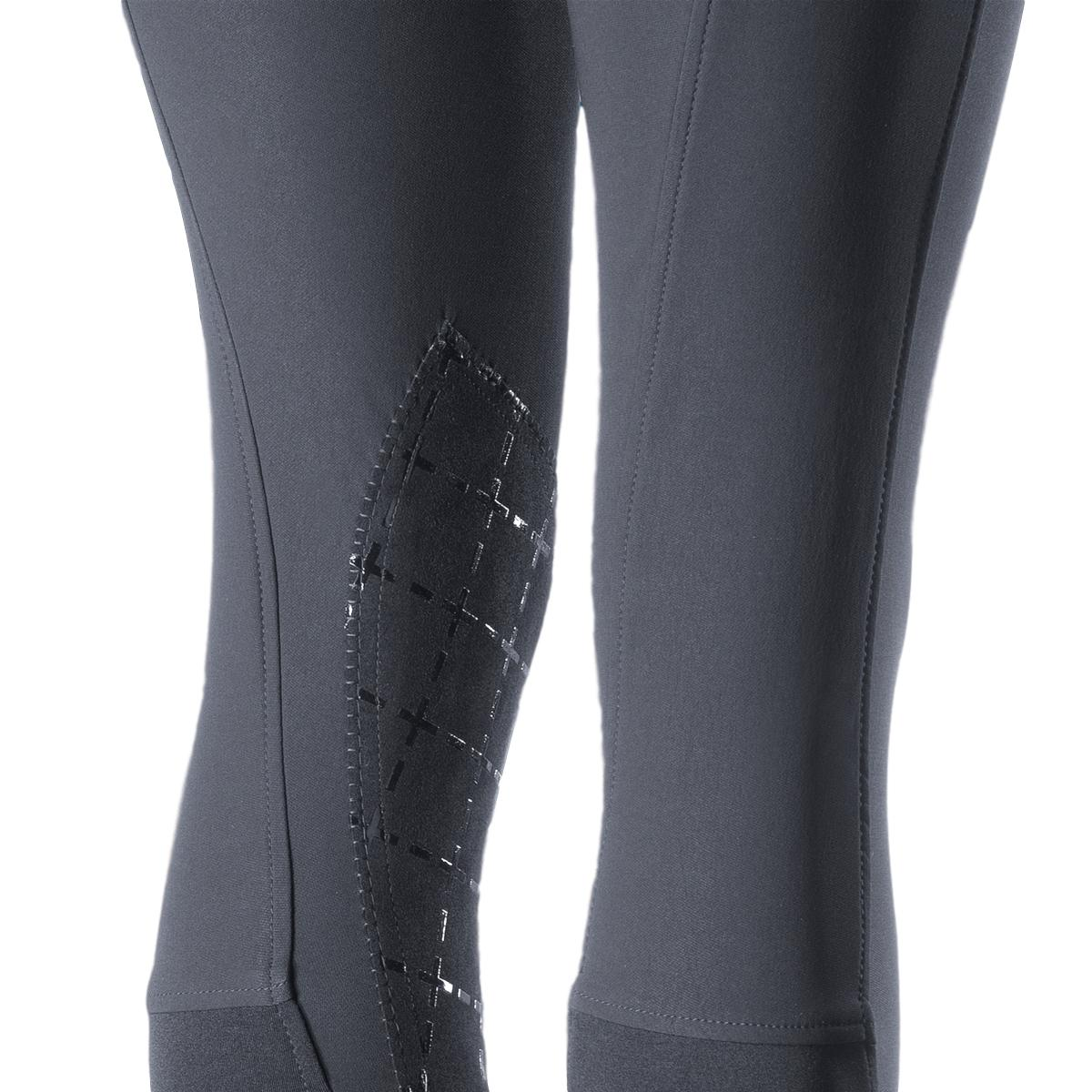 Horze-Desiree-Women-039-s-Knee-Patch-Riding-Breeches-with-High-Waist-and-Bi-Stretch thumbnail 20