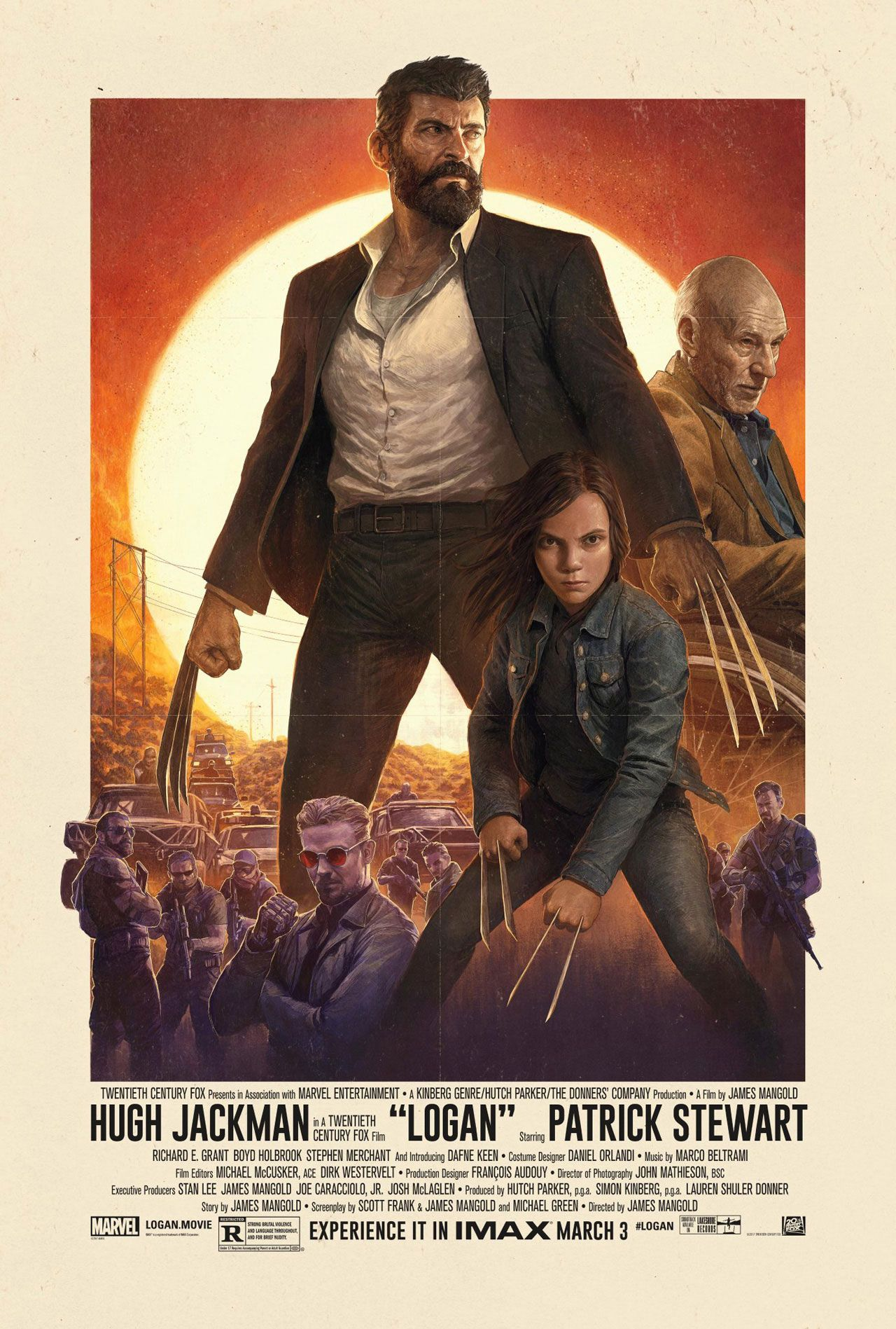 Poster Logan Full Movie English Download HD-CAM
