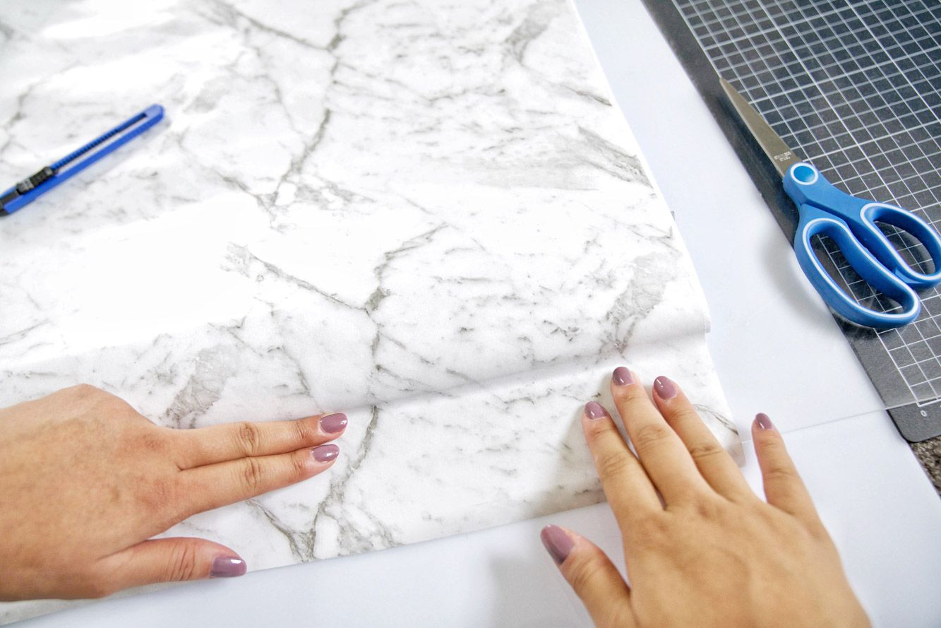 DIY Marble Background for Flatlays