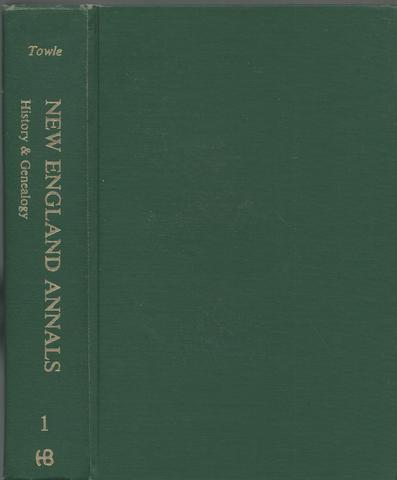 New England Annals: History and Genealogy