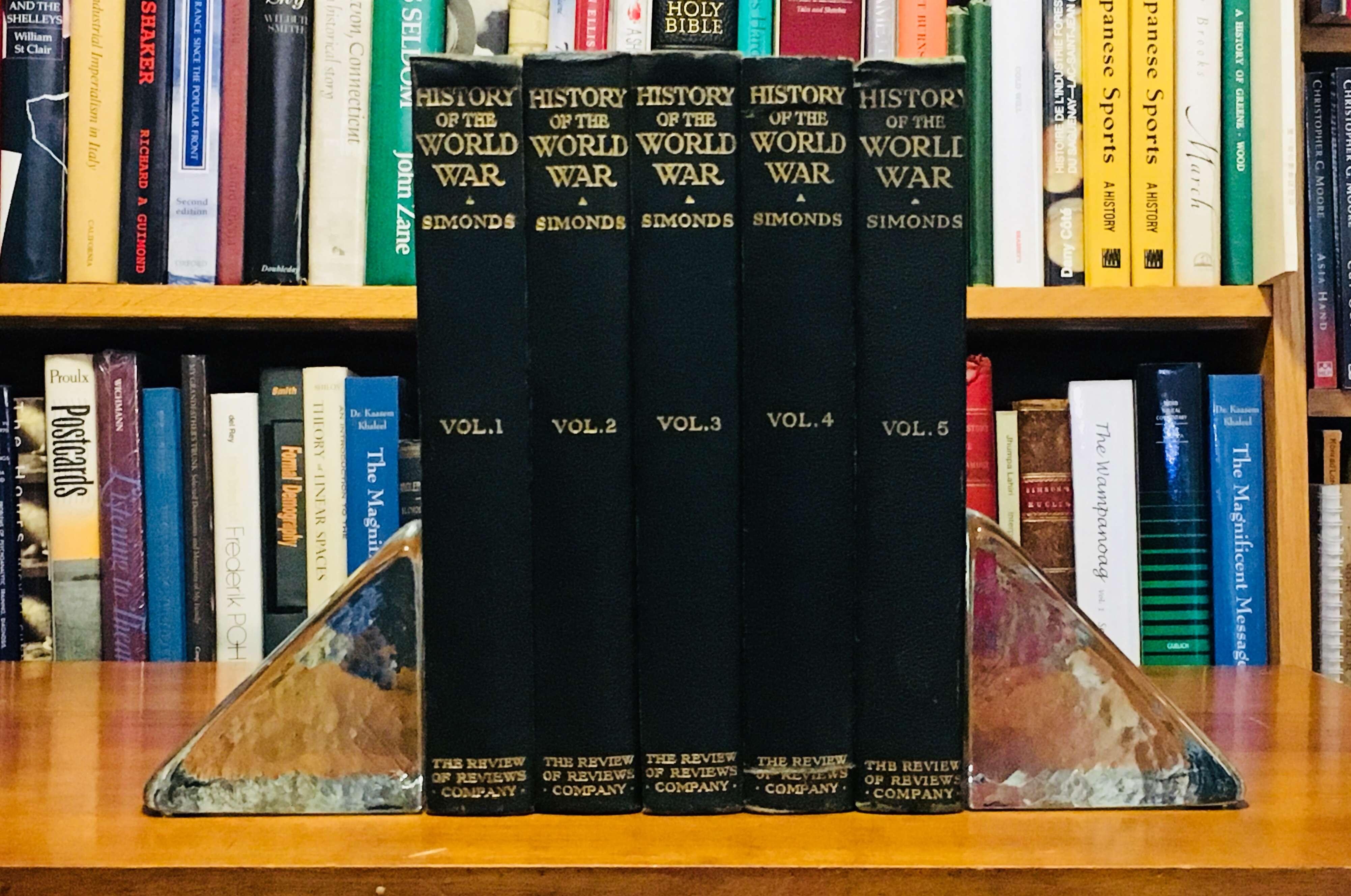 History of the World War (5 volume set), Simonds, Frank H.