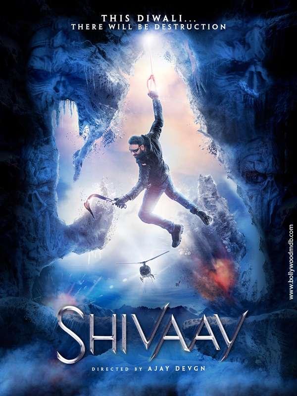Poster Shivaay 2016 Full Hindi Movie Download 400MB HD 480p