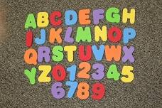 Little Tikes Foam Letters & Numbers