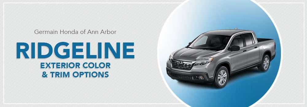 Honda Ridgeline Color Options