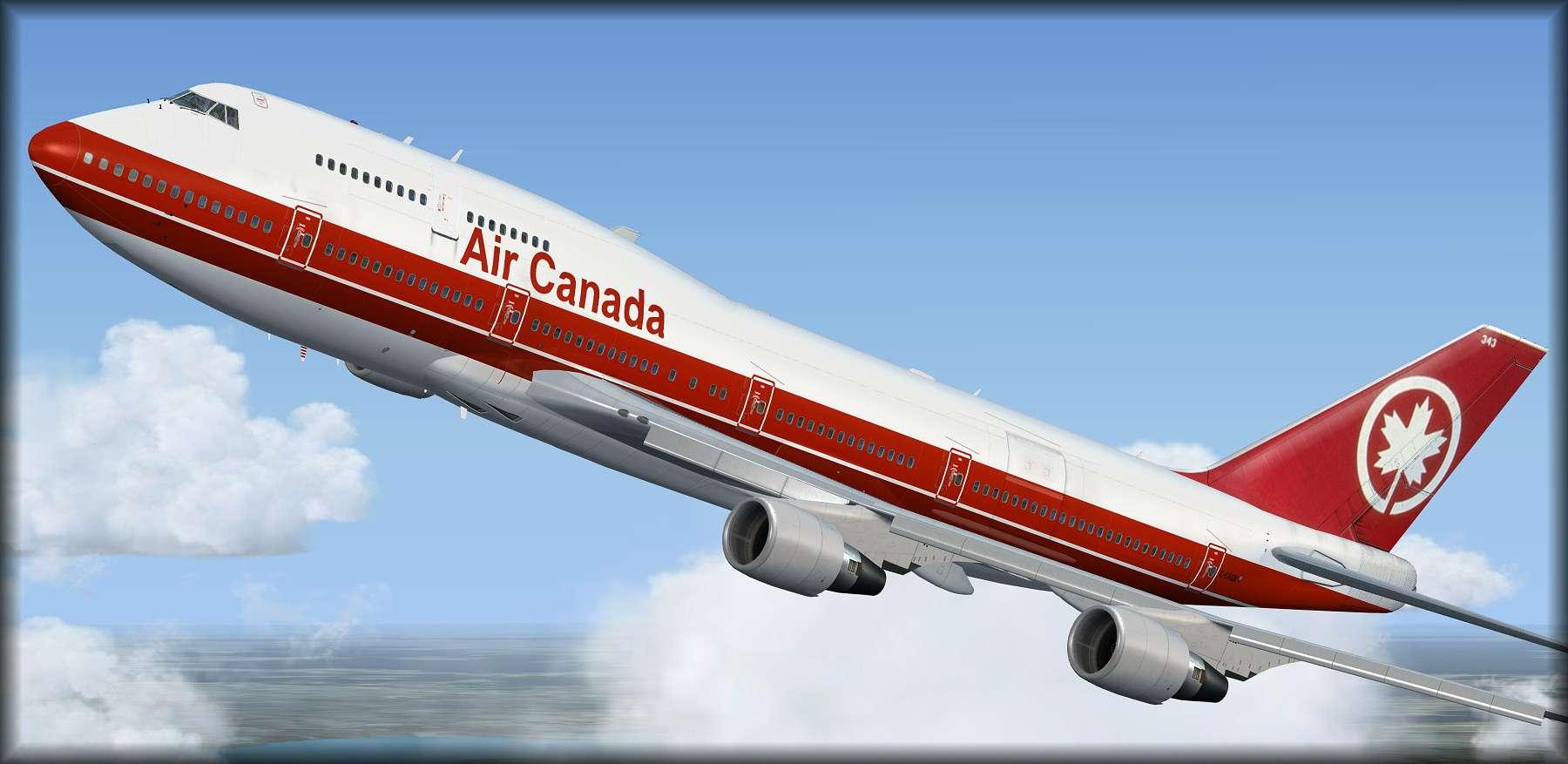 My favorite Air Canada livery      - The AVSIM Screen Shots