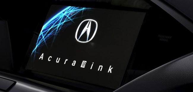 AcuraLink Navigation Display