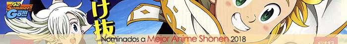 Nominados a Mejor Anime Shonen 2018