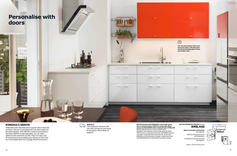 Ikea Catalogue 2018 (Kitchens 2018) | Malaysia Catalogue