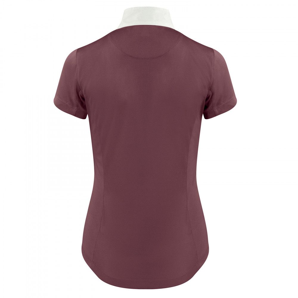 Horze-Blaire-Women-039-s-Short-Sleeve-Functional-Show-Shirt-with-UV-Protection thumbnail 19