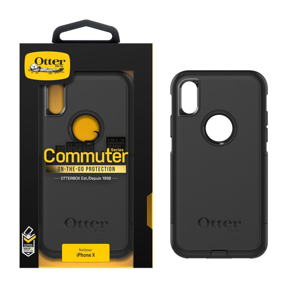 official photos 16a49 b040a Details about OtterBox Commuter Series On-the-Go Protection Case for Apple  iPhone X Black