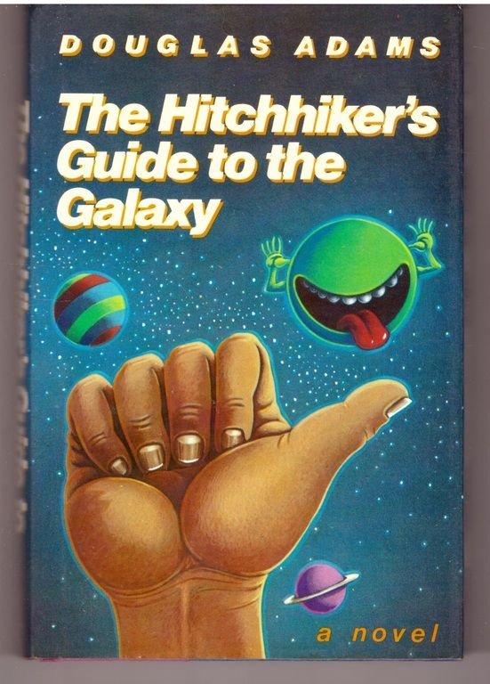 The Hitchhiker's Guide to the Galaxy, Adams, Douglas