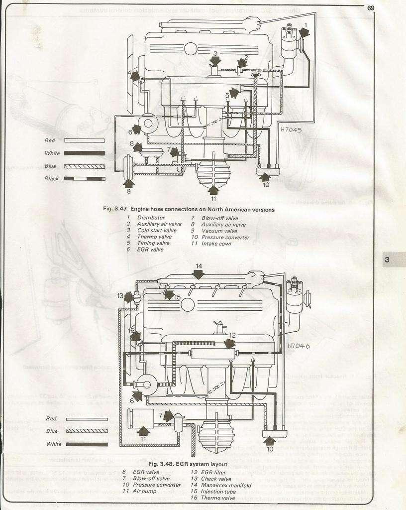 headers installed no egr valve how do route vacuum hoses rh bimmerforums com John Deere 425 Engine Diagrams BMW E36 Engine Diagram
