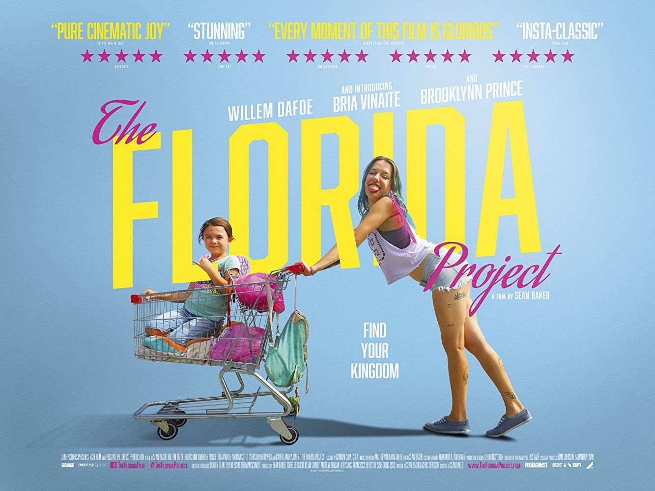 The Florida Project Poster Πόστερ