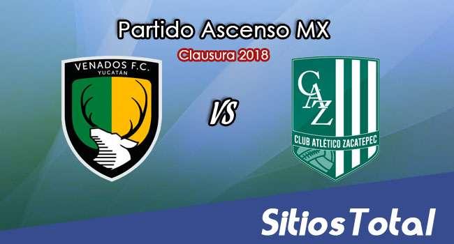 Venados vs Atlético Zacatepec en Vivo – Ascenso MX – Viernes 2 de Febrero del 2018