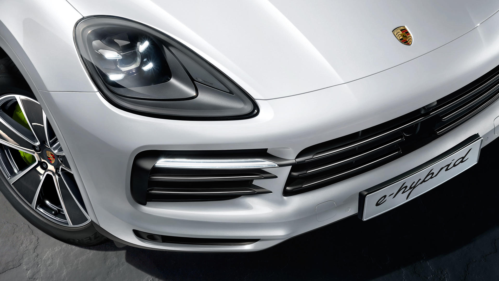 2020 Porsche Cayenne E-Hybrid Powertrain