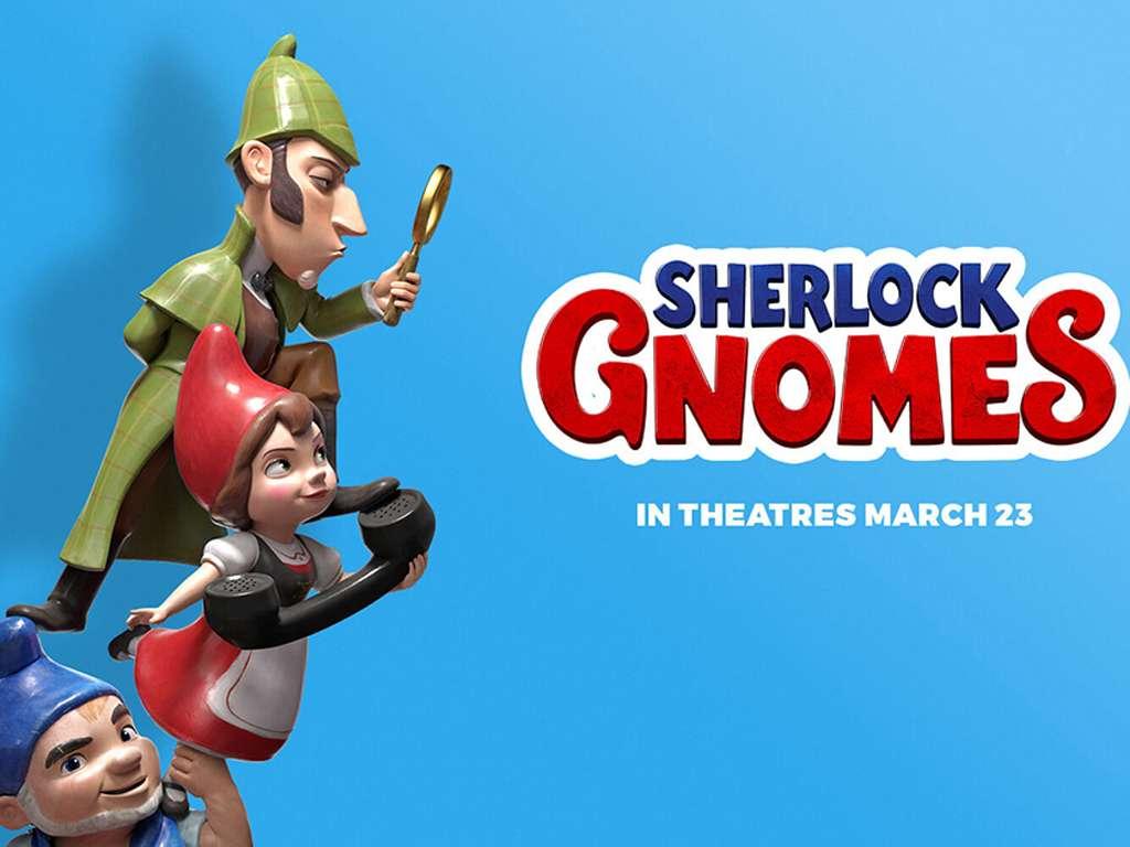 Σέρλοκ Ζουμπόμς (Sherlock Gnomes) Quad Poster Πόστερ