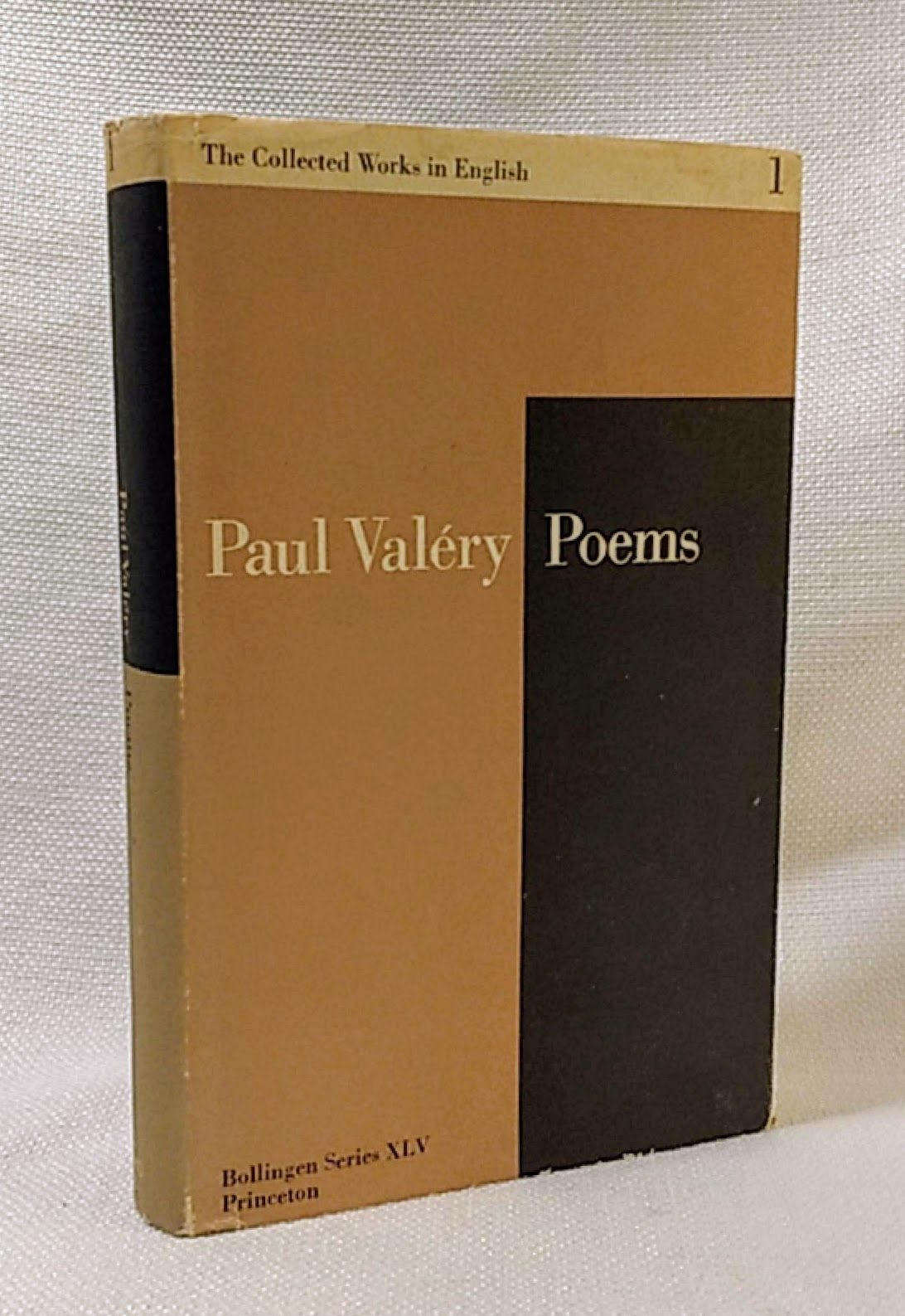 The Collected Works of Paul Valery, Vol. 1: Poems (Bollingen) (French and English Edition)