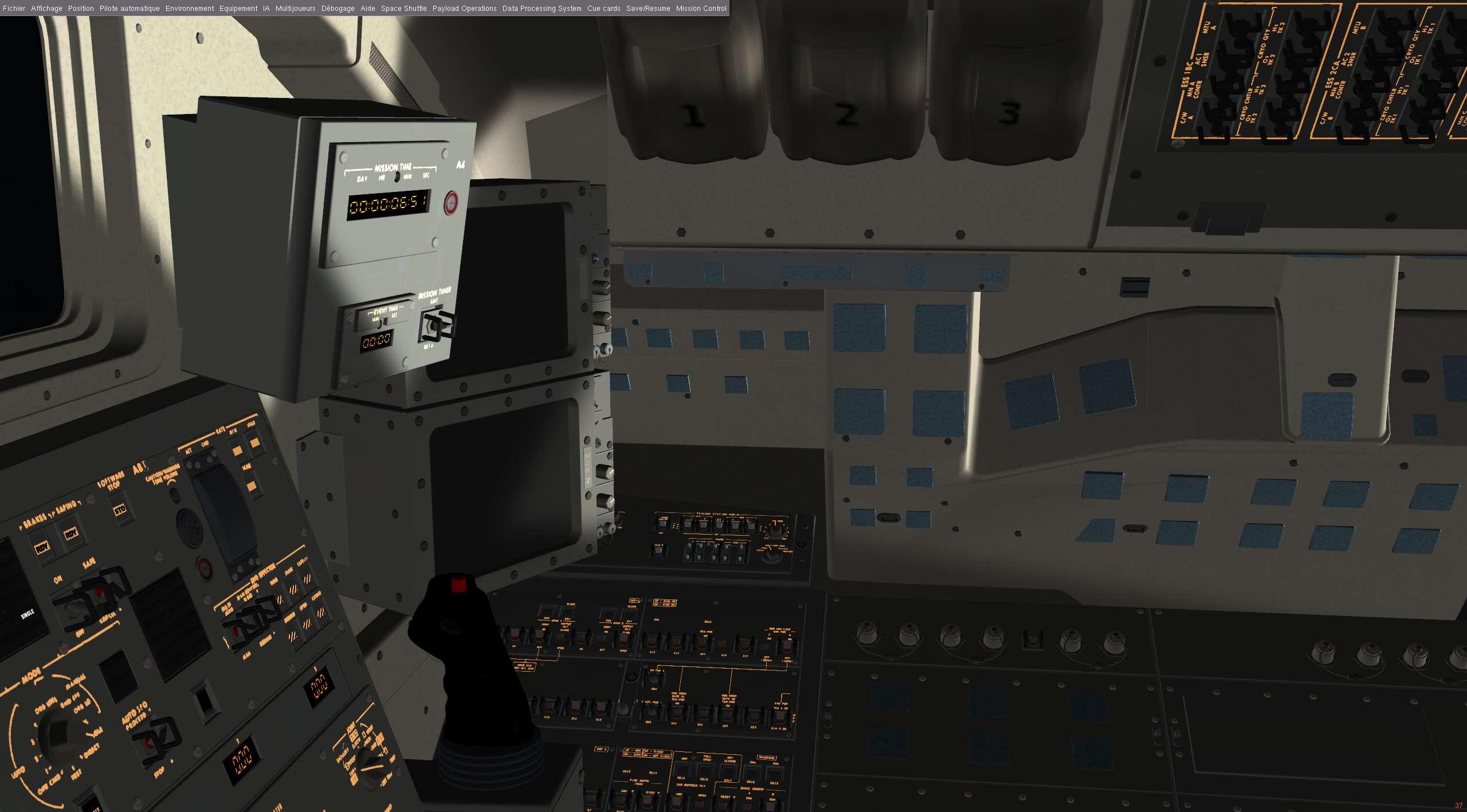 Flight Gear Space Shuttle Simulator