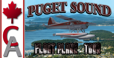 Puget Sound Floatplane Tour