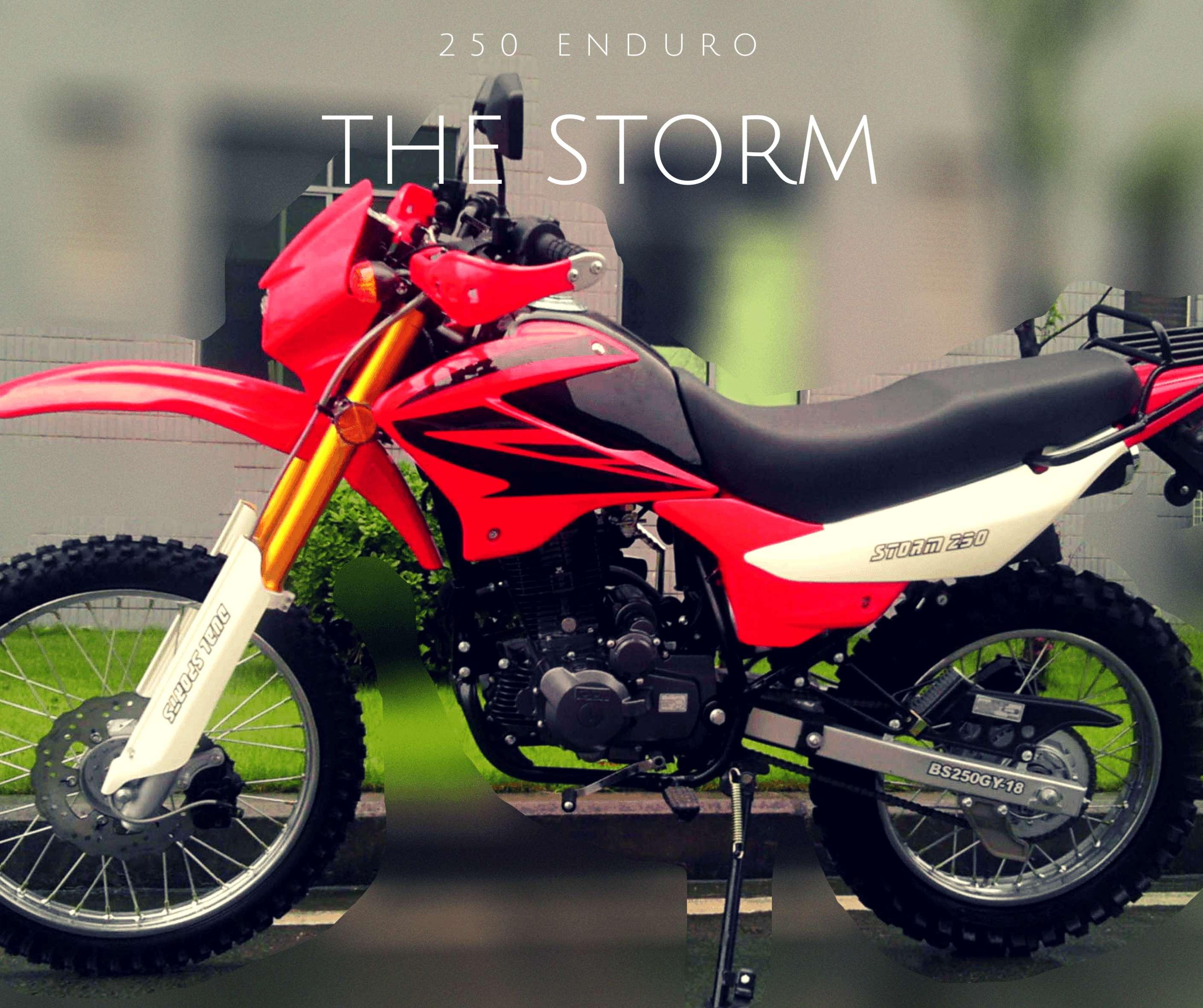 Bashan Storm Enduro Motorcycle 250cc