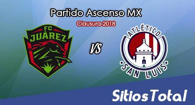 FC Juarez vs  Atlético San Luis en Vivo – Ascenso MX – Sábado 13 de Enero del 2018
