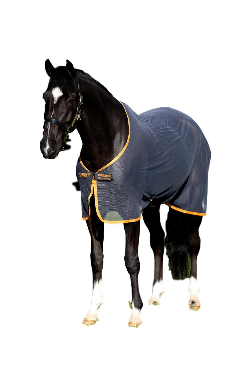 Horseware Ireland Amigo Net Cooler with Cross Surcingle and and and Storage Bag bf77a0