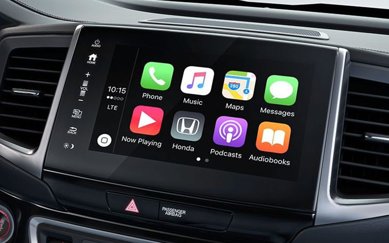 2020 Honda Ridgeline Apple CarPlay Smartphone Integration