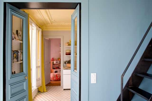 Home tour: Farverig pariser lejlighed | Kreavilla