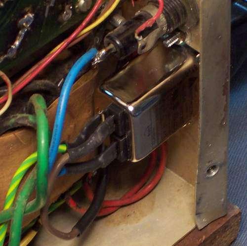 Tram D201 Multi section twist lock capacitors  | Grumpy's