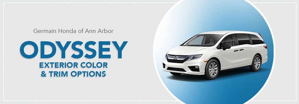 Honda Odyssey Color Options