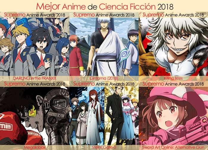Final X Categorias Nominados a Mejor Anime de Ciencia Ficción 2018